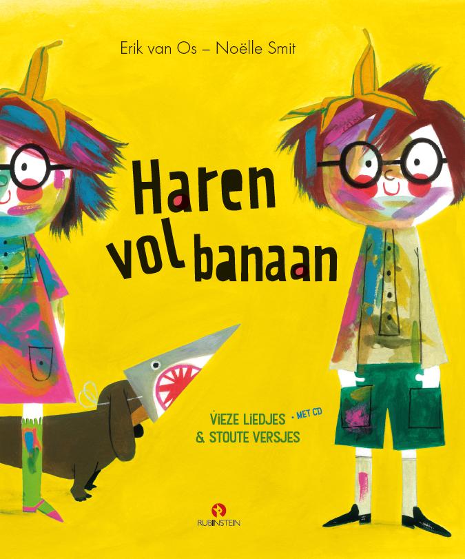 Haren vol banaan Erik van Os en Elle van Lieshout
